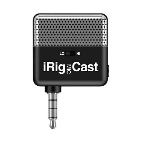 IK MULTIMEDIA iRig Mic Cast миниатюрный микрофон