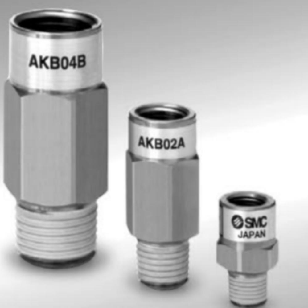 AKB02B-02S  Обратный клапан, R1/4