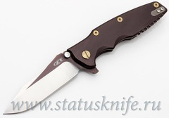 Нож Zero Tolerance 0392BRNGLD Rick Hinderer Limited Edition