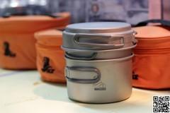 Набор посуды титановый NZ 0.8 и 1.2л TS-014 - 2