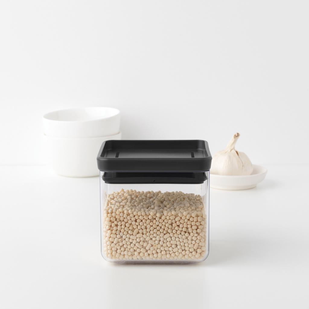 Прямоугольный контейнер (0,7 л), Темно-серый, арт. 122309 - фото 1