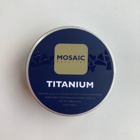 Подшипники Mosaic Titanium Gold Black