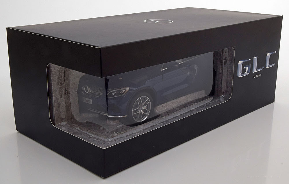 Коллекционная модель Mercedes-Benz GLC Coupe (C253) 2016 Brilliant Blue