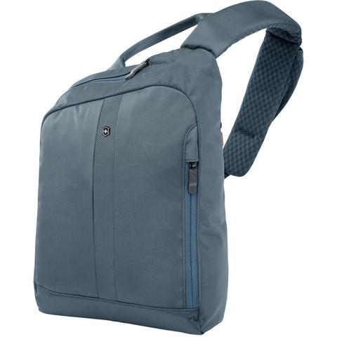Рюкзак Victorinox Gear Sling с защитой w/RFID, с одним плечевым ремнём, зеленый, 24x10x34 см, 8 л