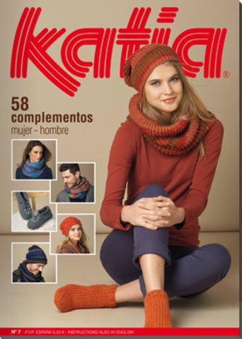Журнал Woman 7 Accessories Katia