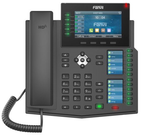 Fanvil X6U - Business SIP Phone (POE) - IP телефон