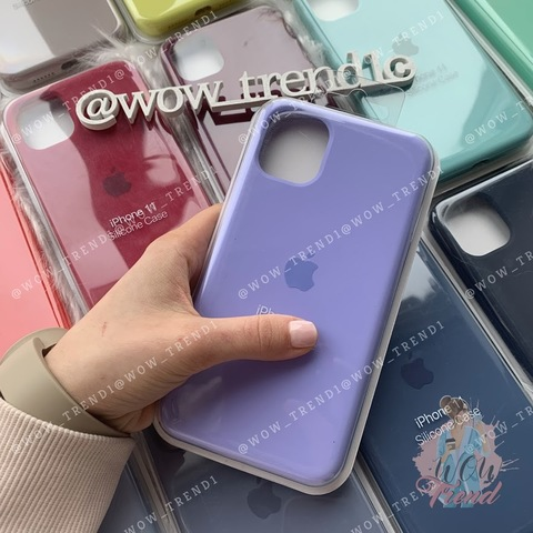 Чехол iPhone 11 Silicone Case Full /glycine/