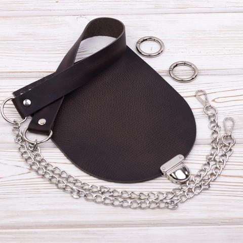 """Комплект для сумочки Орео """"Черное дерево"""" N2"""