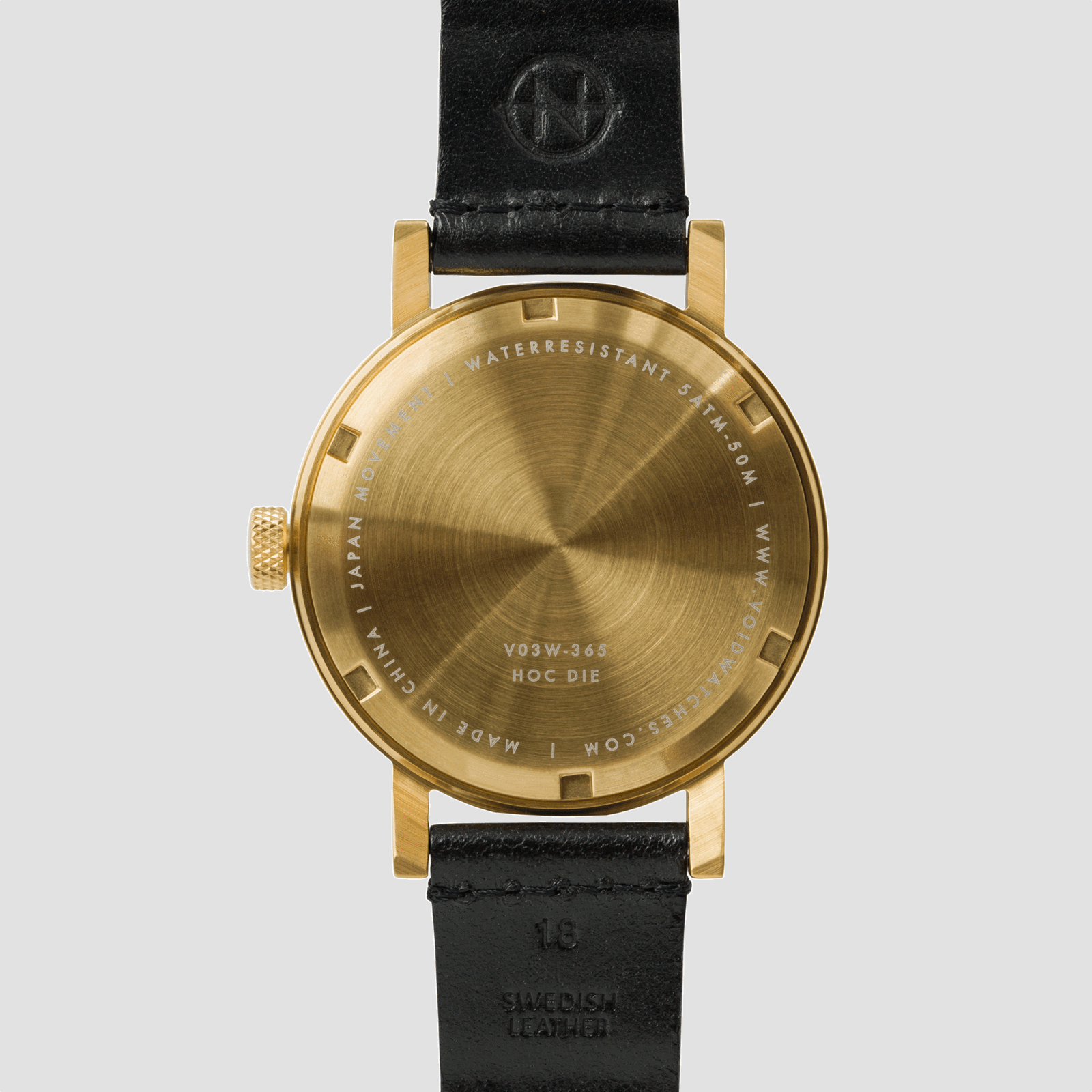 Void Watches V03W-365 V03W Gold Limited Edition