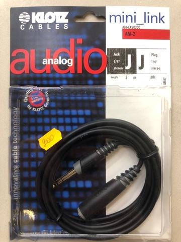 KLOTZ AM-EX20300 - Балансный аналоговый аудио-кабель PCB102