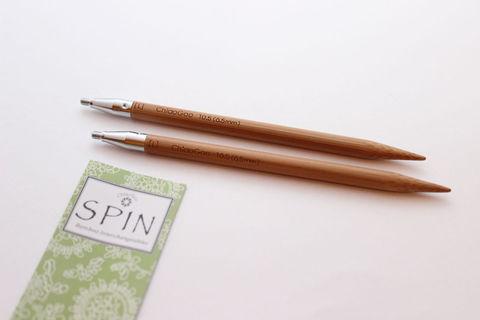 ChiaoGoo Спицы съемные бамбук 13 см S