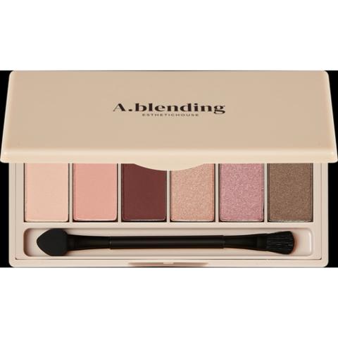 Esthetic House Тени для век (нудистский пляж) - A.blending pro eyeshadow palette, 6шт*2г
