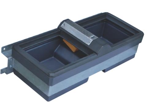 72M | 1130517 - Поилка Полибак 72М, двойная, с опциональным кронштейном, объем 72 литра