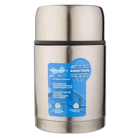 Термос для еды Biostal Авто (1 литр) с термочехлом, медный