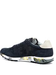 Замшевые кроссовки Premiata Eric 3836 с перфорацией
