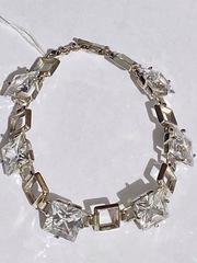 Квадрат  (серебряный браслет)