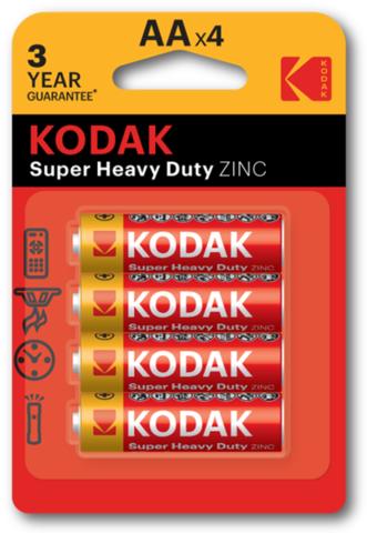 Батарейки Kodak R6, AA (4/80) BL
