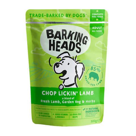 купить паучи Barking Heads Мечты о ягненке с ягненком 300 грамм