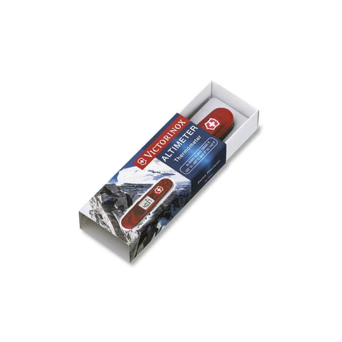 Нож Victorinox Traveller, 91 мм, 27 функций, полупрозрачный красный