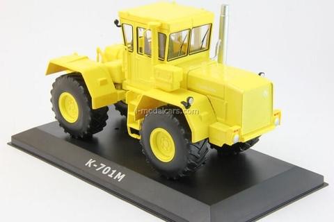 Tractor K-701M Kirovets yellow 1:43 Hachette #51