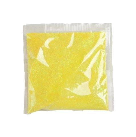 Блёстки в пакетике 80 г, цвет: жёлтый