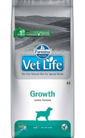 12 кг. FARMINA Vet Life Сухой корм для собак для укрепления иммунитета Growth