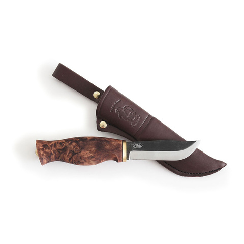 Нож с фиксированным клинком Ahti 9698 Puukko Jahti