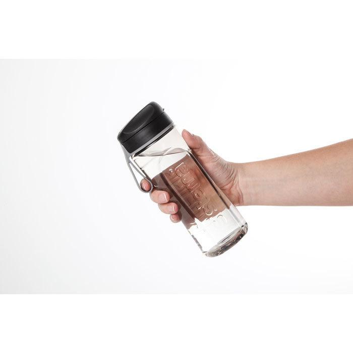 """Бутылка для воды Sistema """"Hydrate"""", Тритан, 600 мл, цвет Черный"""