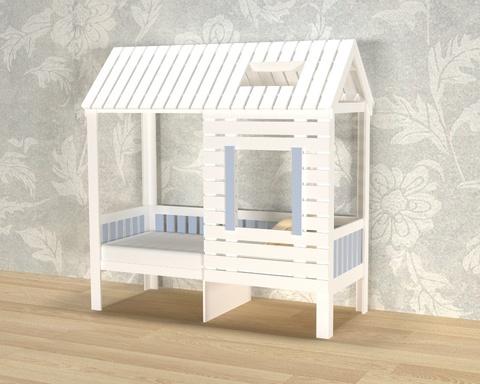 Кровать АМИ-2-1700-0700 /1808*1835*871/ левая