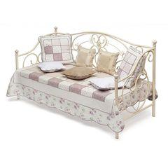 Кровать-кушетка Джейн 200x90 (Jane) Античный белый