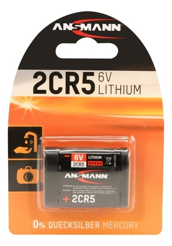 Батарейка ANSMANN 2CR5