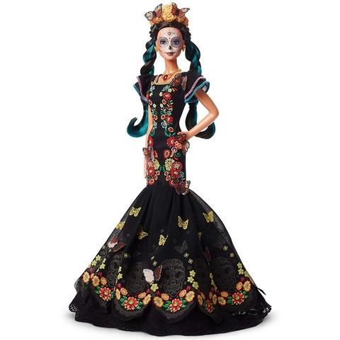 Барби День Мертвых в Черном Платье