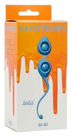 Вагинальные шарики Emotions Gi-Gi turquoise 4003-03Lola