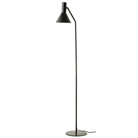 Лампа напольная Lyss, черная матовая