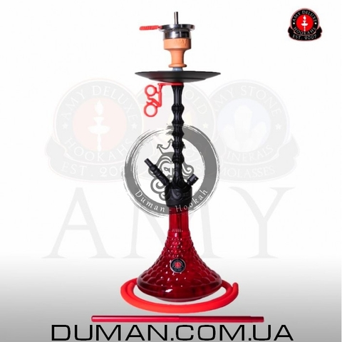 Кальян AMY Deluxe 072.01 Alu Antique Berry PSMBK-RD   Red Mate