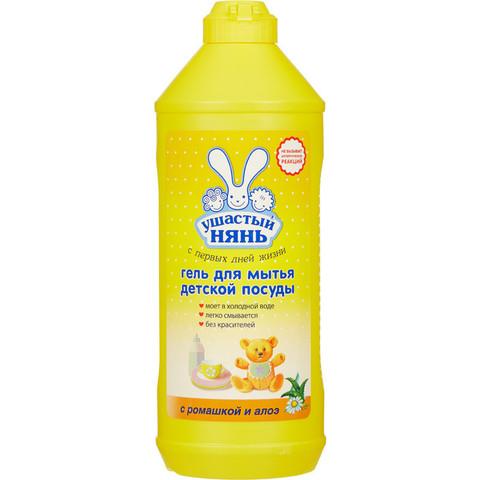 Средство для мытья посуды Ушастый нянь с ромашкой и алоэ 500 мл