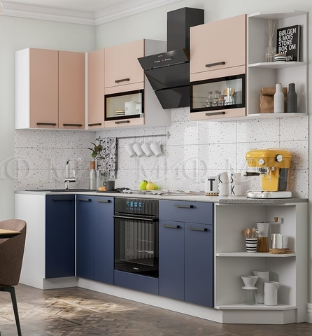 Кухня Угловая Техно NEW 0,9-2,7 м №2