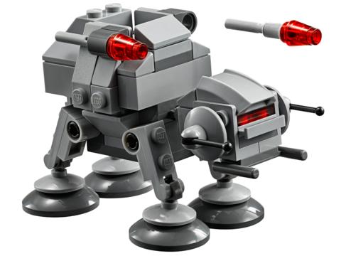 LEGO Star Wars: AT-AT 75075 — AT-AT Microfighter — Лего Звездные войны Стар Ворз