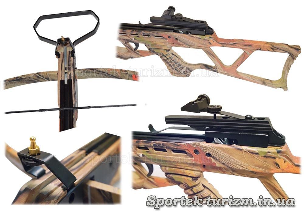 Виды винтовочного арбалета Man Kung MK-120АС