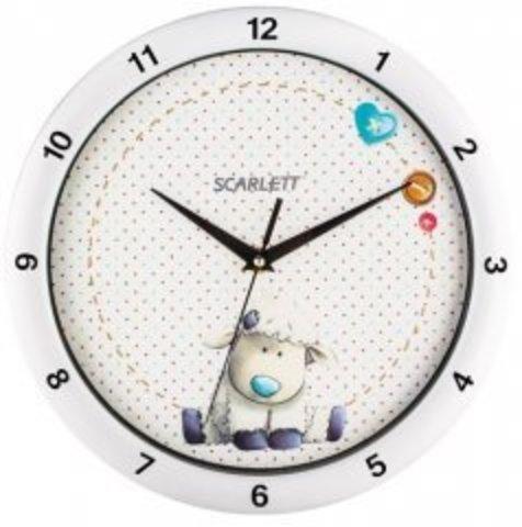 Часы настенные Scarlett SC - WC1005I