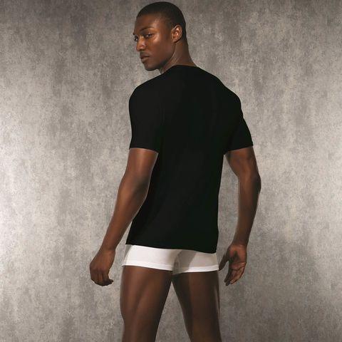 Мужская футболка черная Doreanse 2850