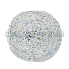 Шерсть Ангорка 39 (бело-голубой меланж)