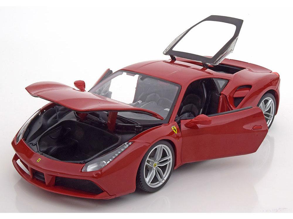 Коллекционная модель Ferrari 488 GTB 2015 Red