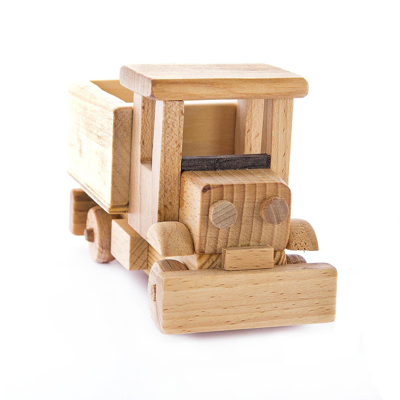 Деревянная игрушка Снегоуборочная машина