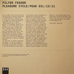 Pleasure Cycle / Peak Oil / 13 / 11