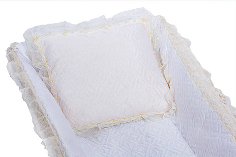 Подушка атласная стеганая