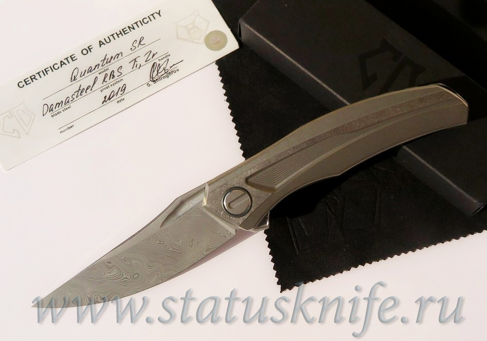 Нож Широгоров Quantum Damasteel Sprint Run Limited