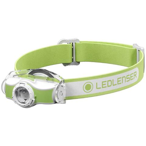 Фонарь налобный Led Lenser MH3 зеленый/белый лам.:светодиод. 200lx AAx1 (501593)
