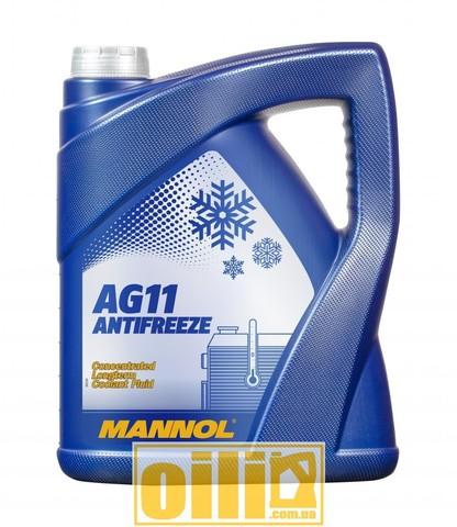 MANNOL 4111 Antifreeze AG11 Longterm 5л