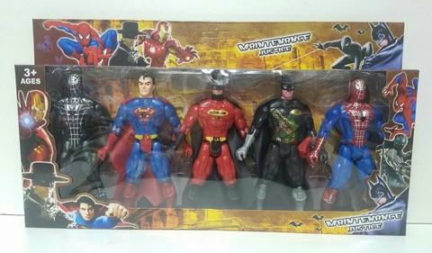 Пять супер-героев Марвел